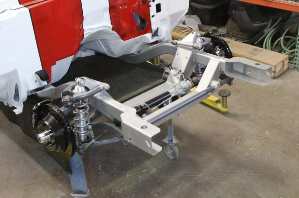 Camaro Heidty Subframe Install Pro Touring Tubular Wilwood Adjustable Shocks X