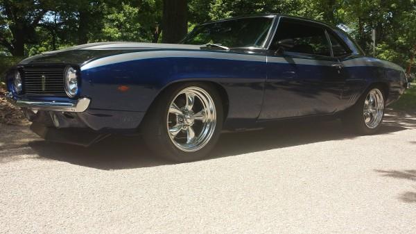 1969 Camaro Side