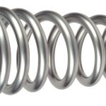 "Springs, 550#, Silver Powder Coated, 10"",  Pair                                     (CQ-550-10-F)"