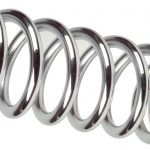 Coil-over Spring - Chrome (CS-450-10)
