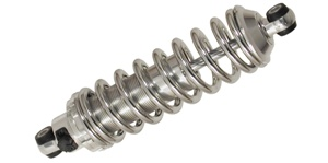 350# Polished Shock / Chrome spring / small block rate (BS-028-35)
