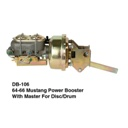 64-66 Power Dual Master Cylinder7″ Booster Disc/Drum (DB-106)