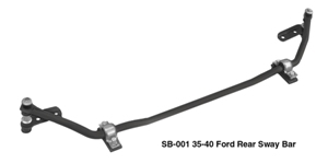 33-40 Ford, Mustang II Front Stabilizer Bar (SB-001)