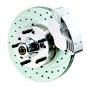 11″ ALUMINUM HUB KIT, DRILLED BS-020-D-B-K (BS-020-D-B-K)