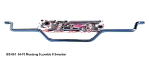 Narrowed Plain Sway Bar  (BS-061-N)