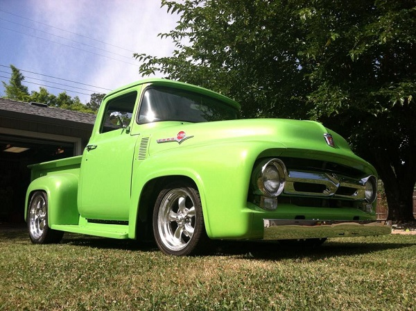 Pat Browns 1956 Ford F100 Heidts