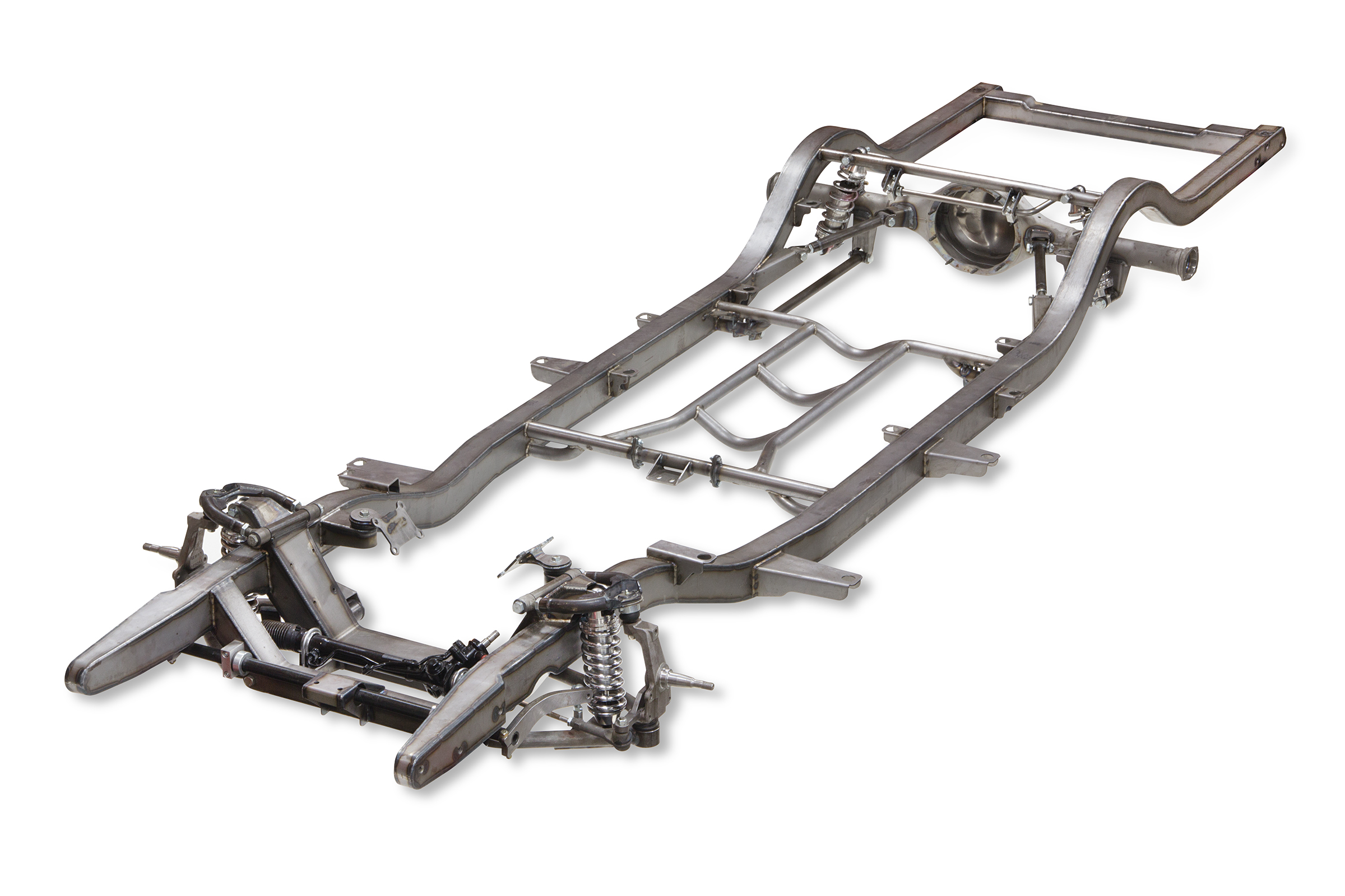 Tri 5 Chevy Pro G Front 4 Link Rear Complete Frame Heidts
