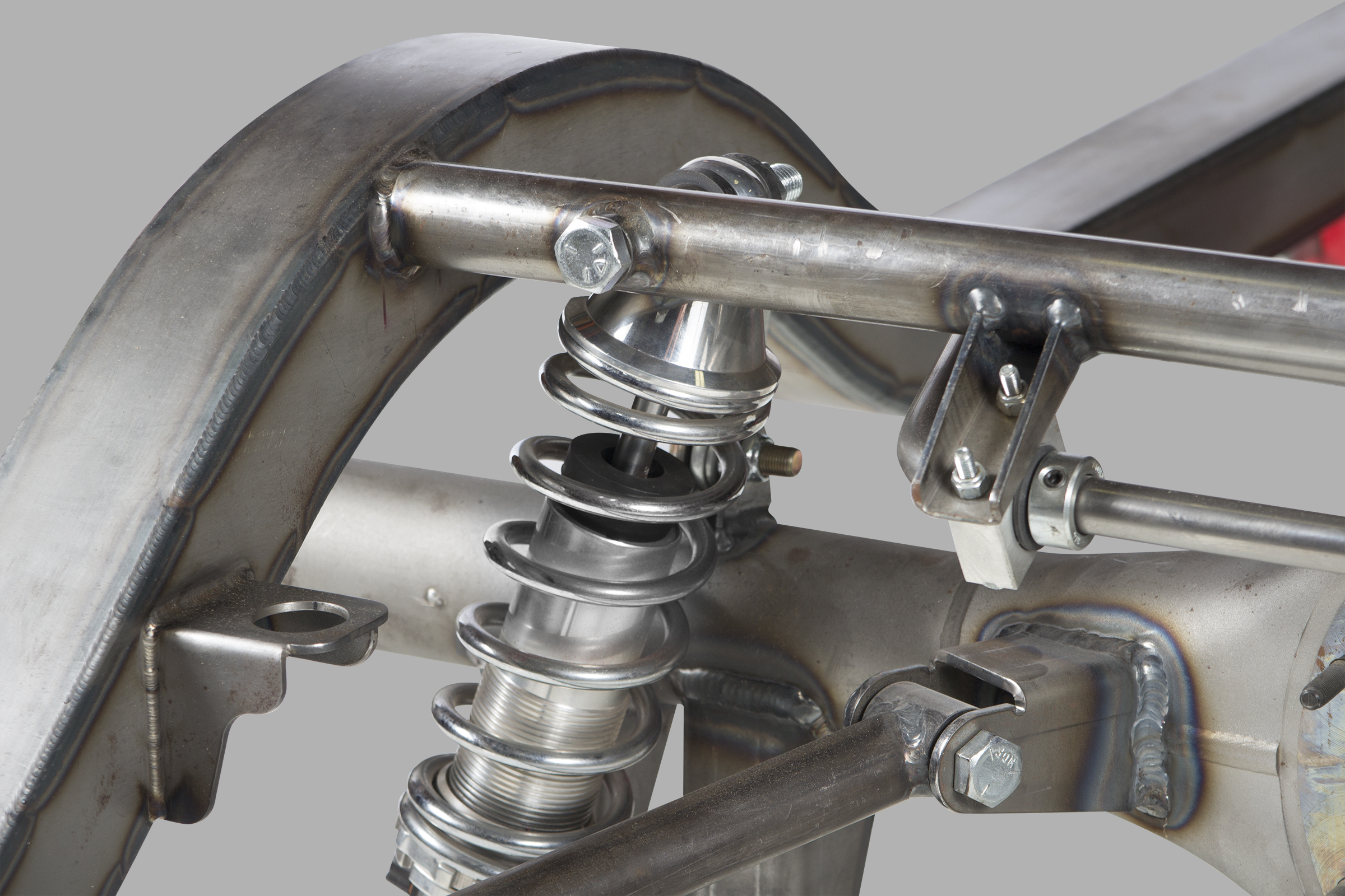 Tri 5 Chevy PRO-G Front, 4 Link Rear Complete Frame